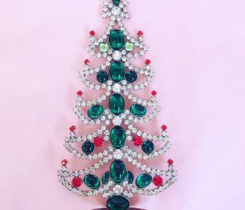 Vintage juletræ